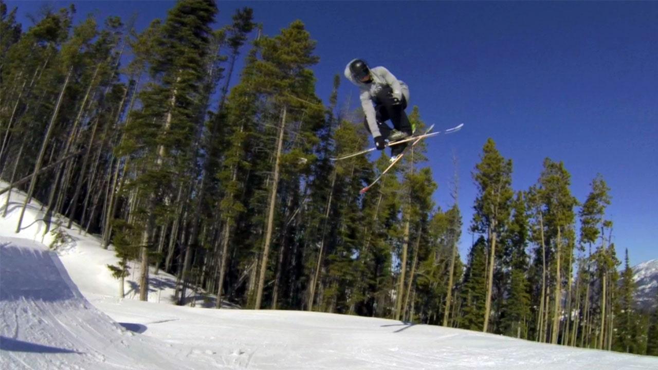 540 on Skis