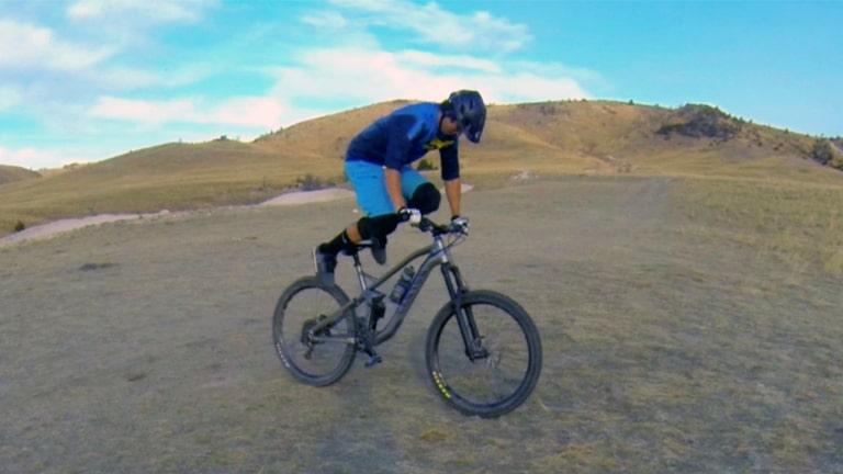 Crankflip on a Mountain Bike