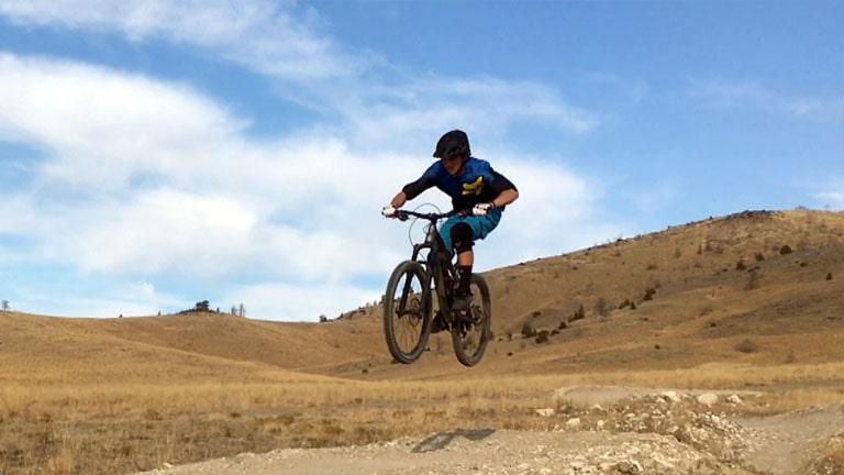 Jumping a Bike