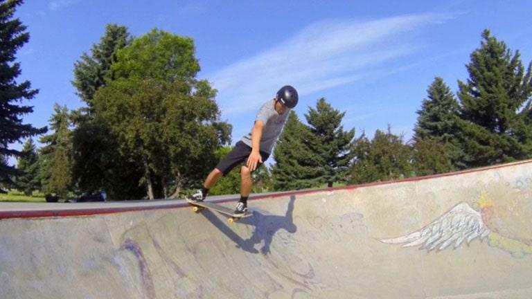 Nose Stall Revert on a Skateboard