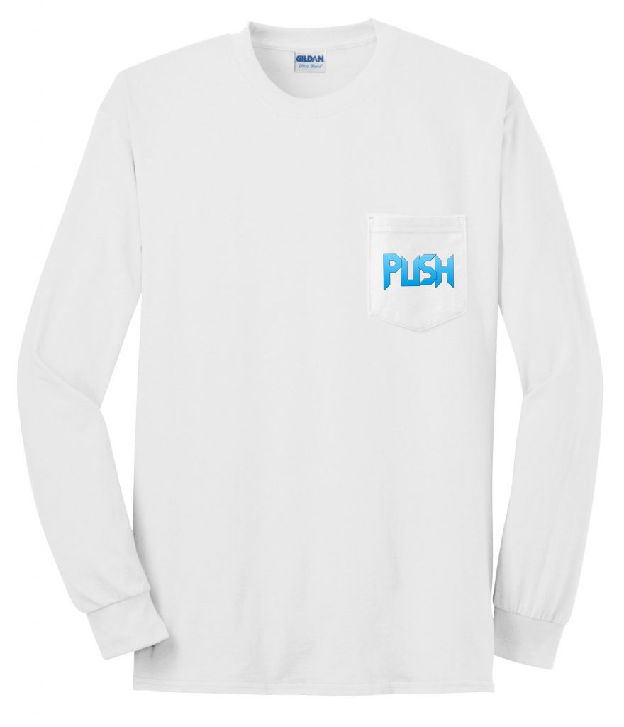 Long Sleeve PUSH Pocket T-Shirt