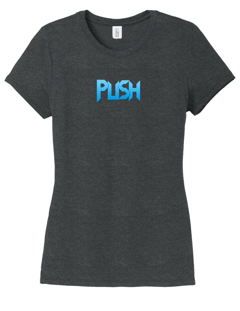 Ladies Soft Short Sleeve Tri-Blend PUSH T-Shirt